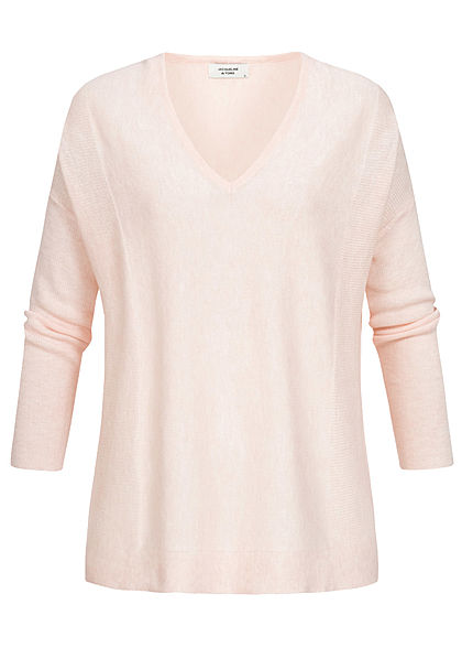 JDY by ONLY Overzied Knit Pullover potpourri rosa