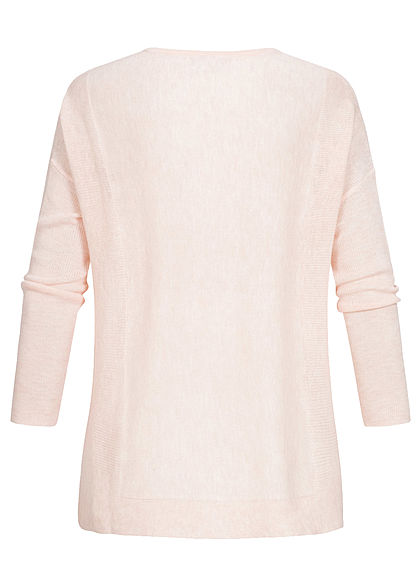 JDY by ONLY Oversized Knit Pullover potpourri rosa