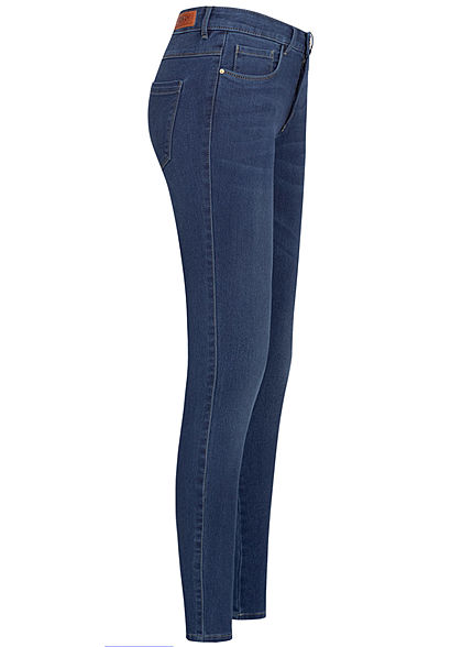 ONLY Damen NOOS Reg Skinny Jeans 5-Pockets dunkel blau denim