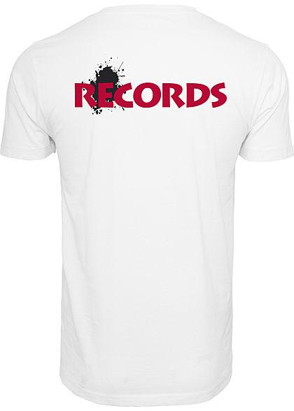 Merchcode TB Herren T-Shirt Death Row Print weiss