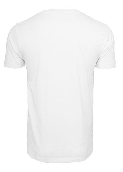 Merchcode TB Herren T-Shirt Rocky Break Print weiss