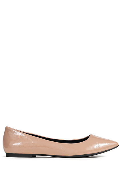 ONLY Damen Ballet Flat Shoes nude rosa