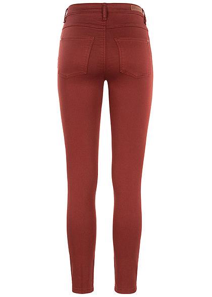 JDY by ONLY Damen Skinny Jeggings Pant 2-Pockets smoked paprika braun