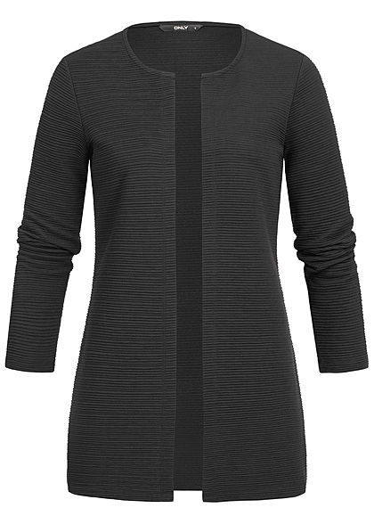 ONLY Damen Ripped Cardigan NOOS schwarz