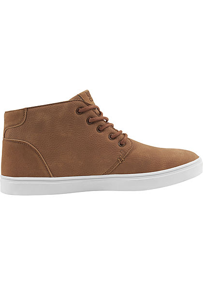 Seventyseven Lifestyle TB Hibi Mid Shoe Sneaker toffee braun weiss