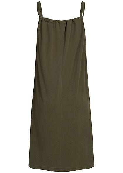 Styleboom Fashion Damen A-Line Beach Strap Dress military grün