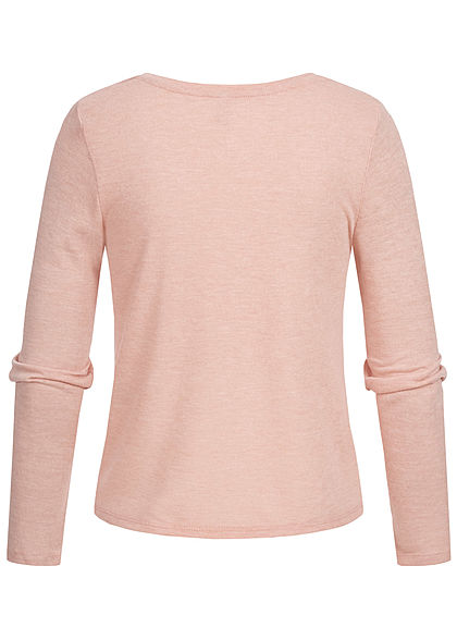 ONLY Damen Twist Front Shirt misty rosa