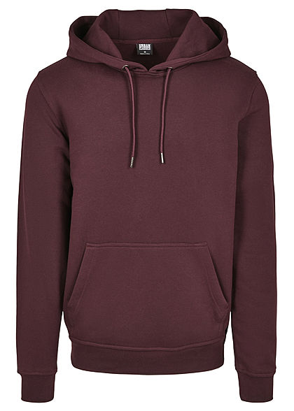 Seventyseven Lifestyle TB Herren Basic Sweat Hoodie red wine rot