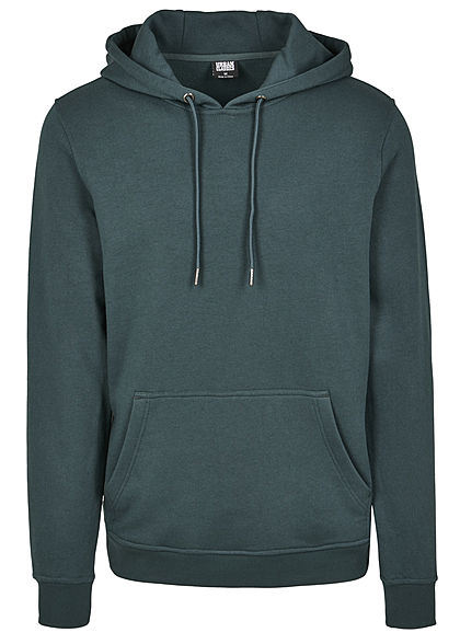 Seventyseven Lifestyle TB Herren Basic Sweat Hoodie bottle grün