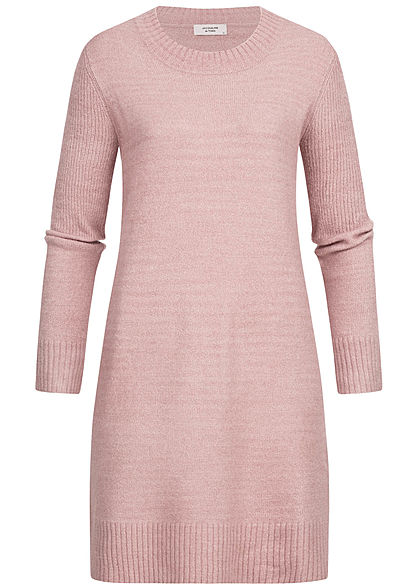 JDY by ONLY Damen Knit Dress NOOS wood rosa