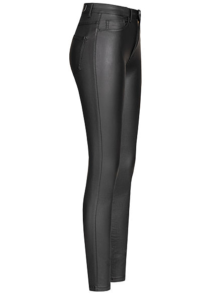 ONLY Damen NOOS Skinny Jeans High-Waist 2-Pockets schwarz