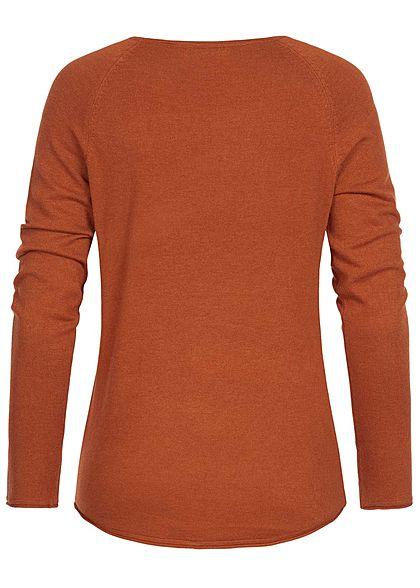 Seventyseven Lifestyle Damen Sweater caramel braun
