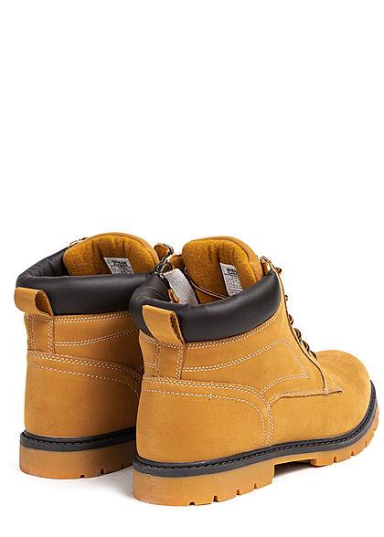 Urban Classics Herren Schuh Winter Boots honey braun