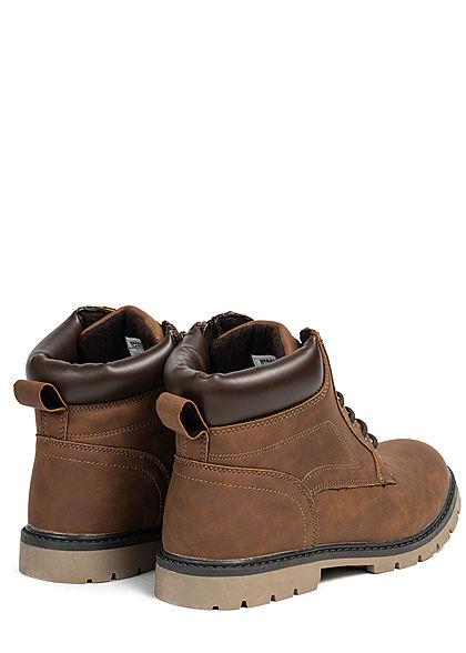 Urban Classics Herren Schuh Basic Winter Boots dunkel braun