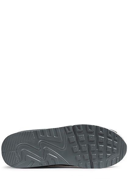 Seventyseven Lifestyle Herren Schuh Sneaker zum Schnüren dunkel grau hell grau