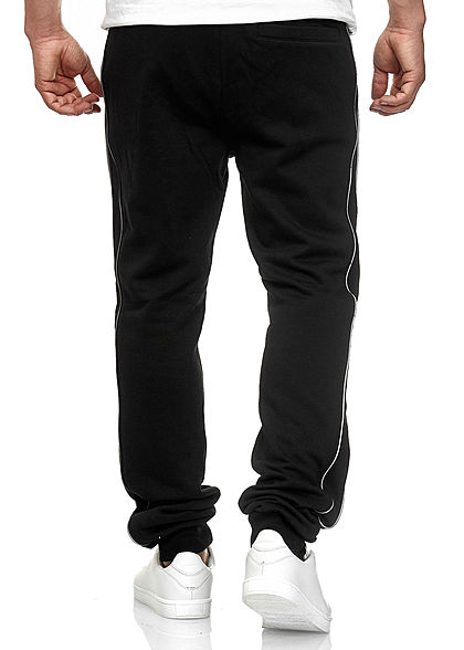 Seventyseven Lifestyle TB Herren Sweatpants 2 Pockets Reflektorstreifen schwarz