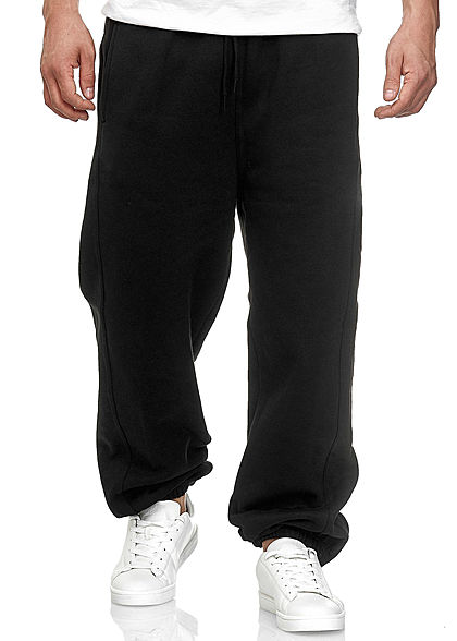 Seventyseven Lifestyle TB Herren Basic Sweatpants 3-Pockets schwarz