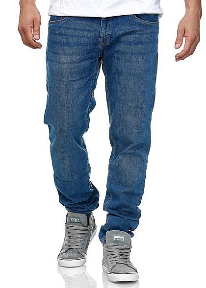 Seventyseven Lifestyle TB Herren Stretch Denim Jeans 5-Pockets blau