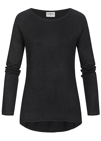 best loved 23792 bdb90 Seventyseven Lifestyle Damen Soft Touch Pullover schwarz ...