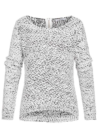 Seventyseven Lifestyle Damen Sweater weiss