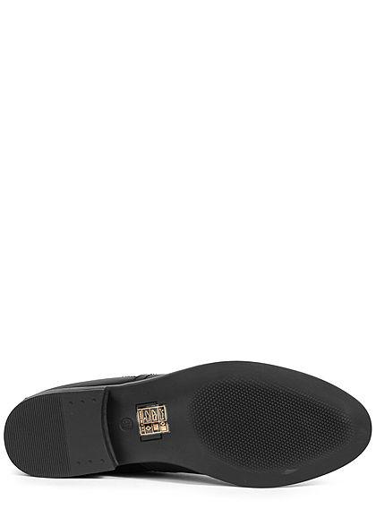 Seventyseven Lifestyle Damen Schuh Chelsea Boots Stiefelette schwarz
