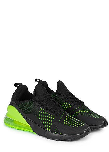 Seventyseven Lifestyle Herren Schuh Sneaker schwarz grün