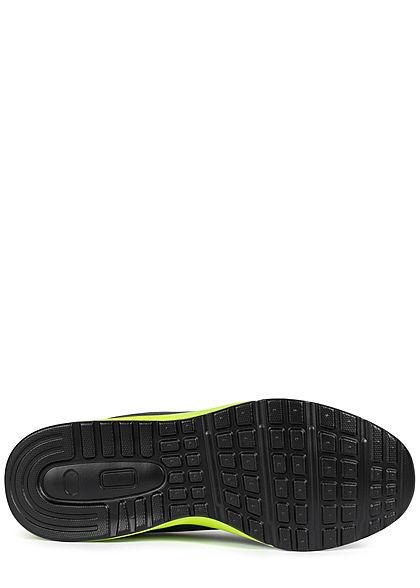 Seventyseven Lifestyle Herren Schuh Sneaker dunkel grau neon grün