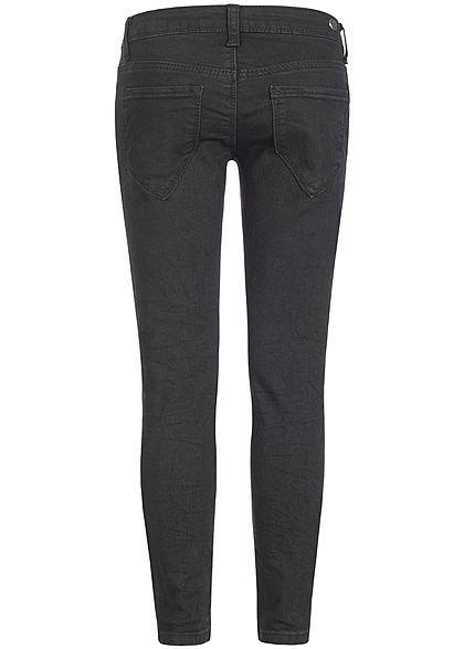 Hailys Kids Mädchen Skinny Jeans 5-Pockets schwarz denim