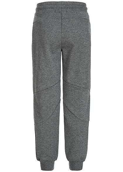 Hailys Kids Jungen Jogging Hose 3-Pockets dunkel grau