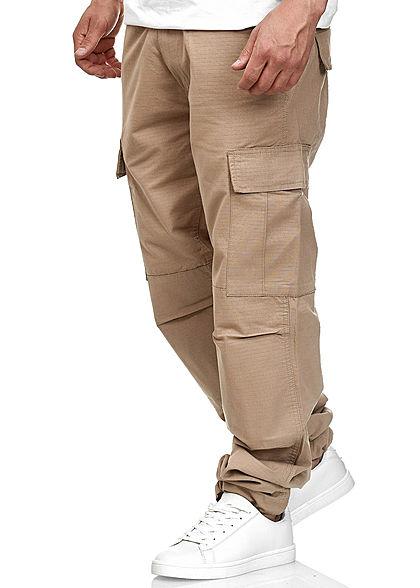 Seventyseven Lifestyle TB Herren Cargo Hose 6-Pockets beige