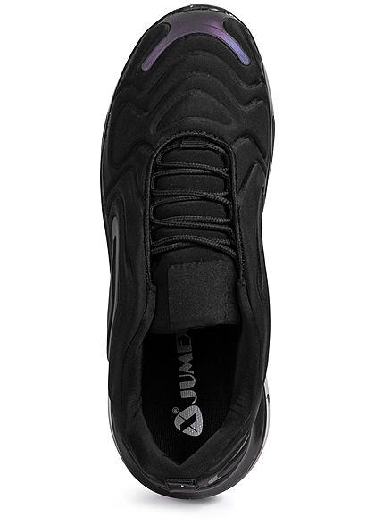 Seventyseven Lifestyle Herren Schuh Effekt Sneaker schwarz