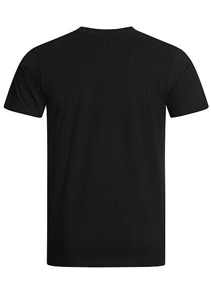 Mister Tee Herren T-Shirt Slyline Print schwarz