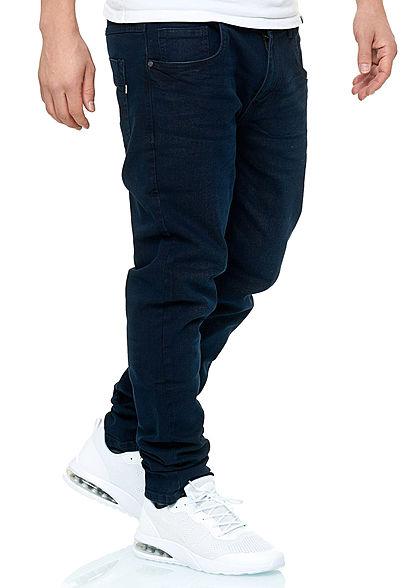 Hailys Herren  Jeans Hose 5-Pockets dunkel blau den