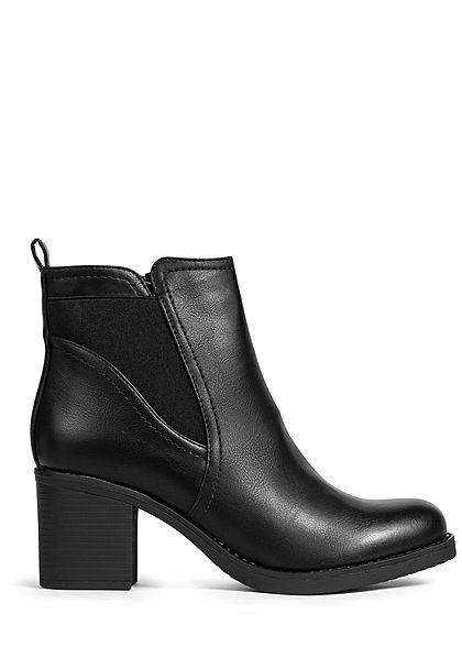 Seventyseven Lifestyle Damen Schuh Stiefel Kunstleder Absatz