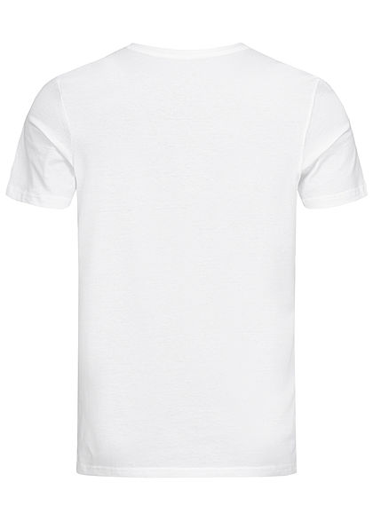 Tom Tailor Herren 2er-Set Basic V-Neck T-Shirt weiss
