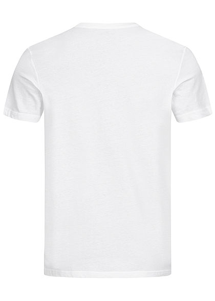 TOM TAILOR Herren 2er-Set Basic Crew-Neck T-Shirt weiss