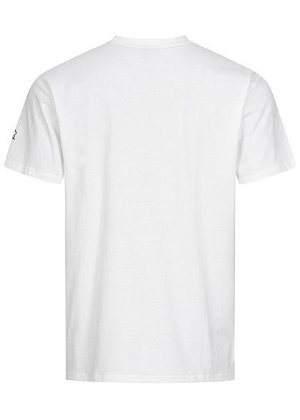 Starter Herren T-Shirt NEW YORK Print weiss