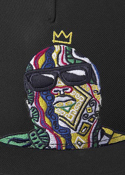 CAYLER & SONS TB Snapback Cap Crowned Stitch schwarz multicolor