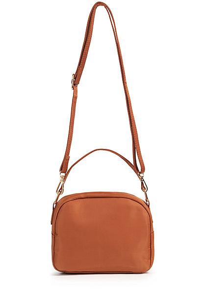 Hailys Damen Mini Handtasche 2-Pockets 20x17cm hazel braun