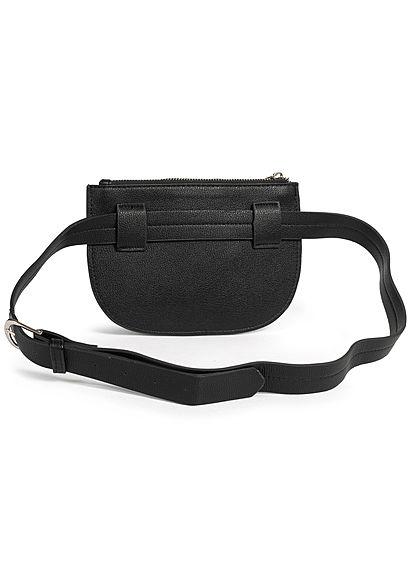 Hailys Damen Mini Gürteltasche 1 Zip-Pocket 20x14cm schwarz