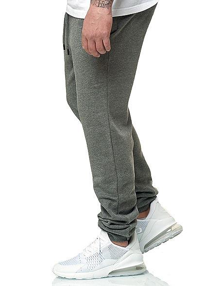 Hailys Herren Jogging Hose 3-Pockets medium grau