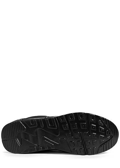 Seventyseven Lifestyle Herren Schuh Sneaker Ombre Look schwarz weiss