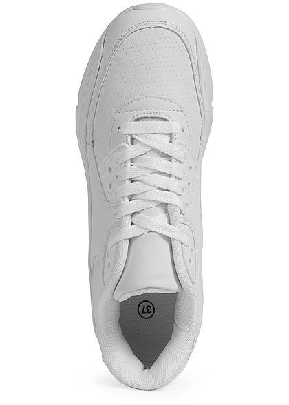 Seventyseven Lifestyle Damen Schuh Kunstleder Sneaker weiss