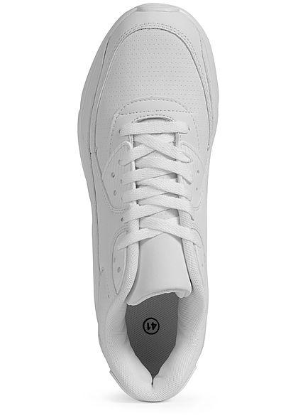 Seventyseven Lifestyle Herren Schuh Kunstleder Sneaker weiss