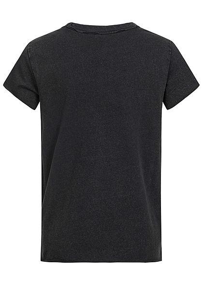 ONLY Kids Mädchen T-Shirt City Lights Print schwarz mc