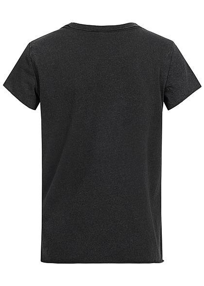 ONLY Kids Mädchen T-Shirt Strong Wings Print schwarz mc