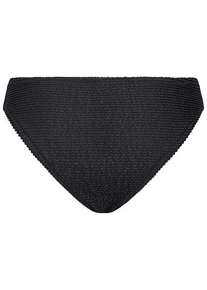 ONLY Damen Brazilian Bikini Slip schwarz