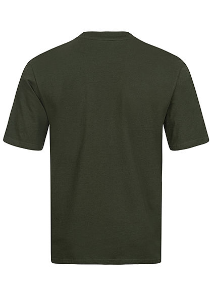 ONLY & SONS Herren NOOS Oversized Basic T-Shirt rosin grün
