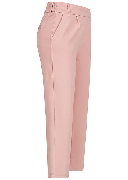 ONLY Damen Poptrash 3/4 Culotte Stoffhose 2-Pockets pale mauve rosa