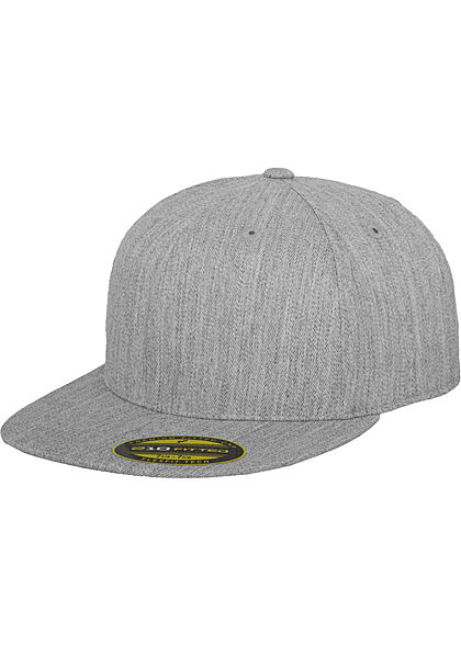Seventyseven Lifestyle TB 210 Fitted Cap heather hell grau